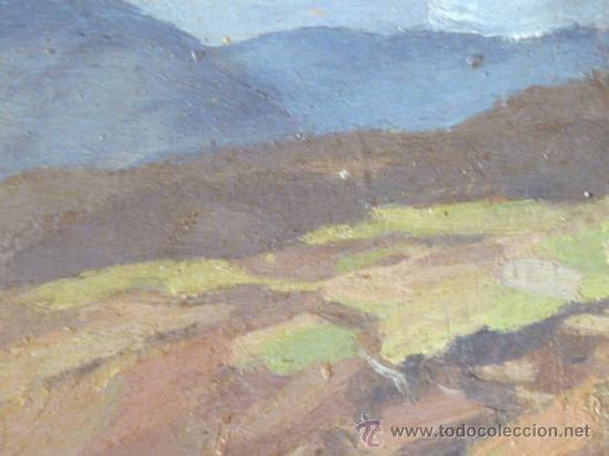 Arte: maravilloso óleo sobre tabla. Firmado L.Reig.Escuela catalana - Foto 4 - 36185829