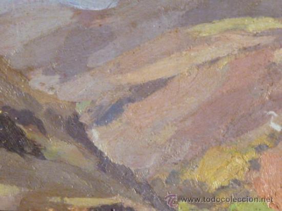 Arte: maravilloso óleo sobre tabla. Firmado L.Reig.Escuela catalana - Foto 6 - 36185829