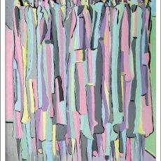 Arte: PACHI GALLARDO (TOLOX, MALAGA 1943), EXTRAORDINARIA PINTURA ORIGINAL DE ESTE ARTISTA MALAGUEÑO.. Lote 36324066