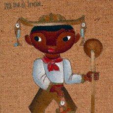Arte: PRECIOSA PINTURA DEL ARTISTA MEXICANO JOSE MARIA SERVIN. Lote 36360003