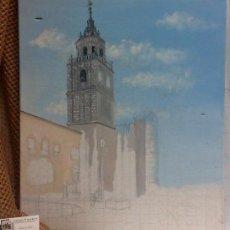 Arte: TORRE.- INTERESANTE CUADRO AL OLEO, ABOCETADO.. Lote 36374071