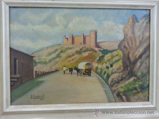 Arte: OLEO SOBRE LIENZO, DEL 1951 FIRMA, J. QUERALT - Foto 4 - 36663642