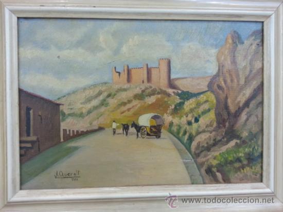 Arte: OLEO SOBRE LIENZO, DEL 1951 FIRMA, J. QUERALT - Foto 9 - 36663642