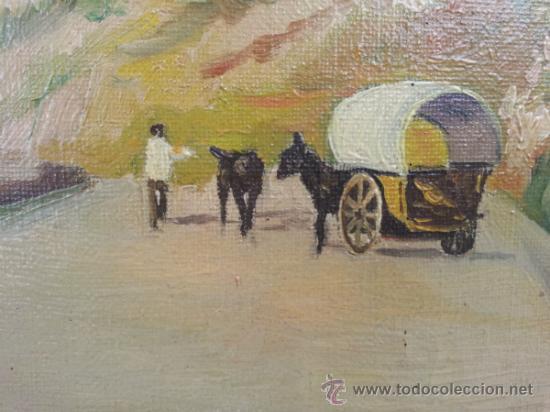 OLEO SOBRE LIENZO, DEL 1951 FIRMA, J. QUERALT (Arte - Pintura - Pintura al Óleo Contemporánea )