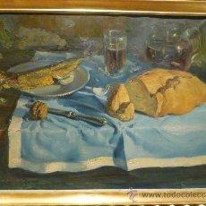 Arte: MAGNIFICO BODEGON DE JOAN VILACASAS. FIRMADO.. Lote 36752711