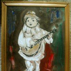 Arte: PINTURA VINTAGE (AÑOS 60) DEL ARTISTA ARGENTINO AFINCADO EN TORREMOLINOS CHE DURAN. Lote 36818021