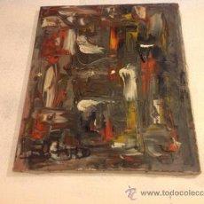 Arte: IMPACTANTE OLEO ORIGINAL FIRMADO. Lote 36903457
