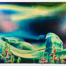 Arte: T.C. VILASANA, 1979. ÓLEO SOBRE PLANXA FLEXIBLE, 41X50 CM.. Lote 36922249