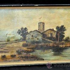 Arte: ANONIMO DE 1900S. OLEO SOBRE TELA. PAISAJE. . Lote 36971399