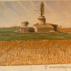 Arte: OLEO SOBRE LIENZO MOLINO . Lote 37006539