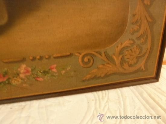 Arte: oleo sobre lienzo santa - Foto 5 - 37006456