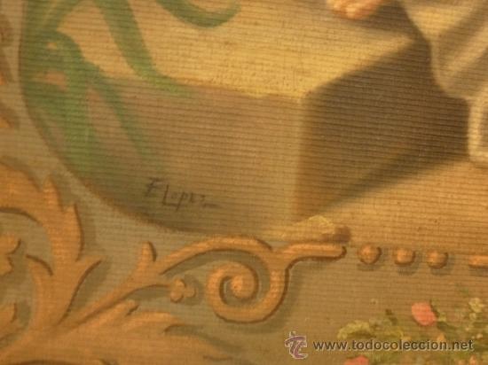 Arte: oleo sobre lienzo santa - Foto 4 - 37006456