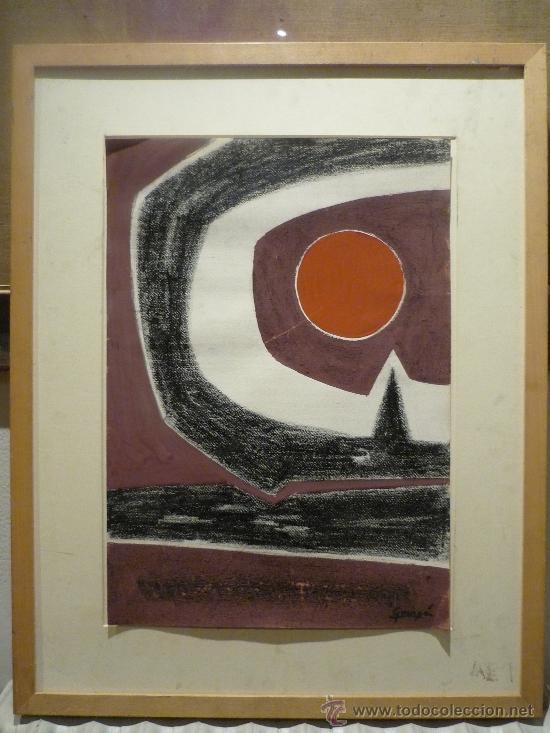 ANTONIO GUANSE BREA (1926-2008). TECNICA MIXTA. (Arte - Pintura - Pintura al Óleo Contemporánea )