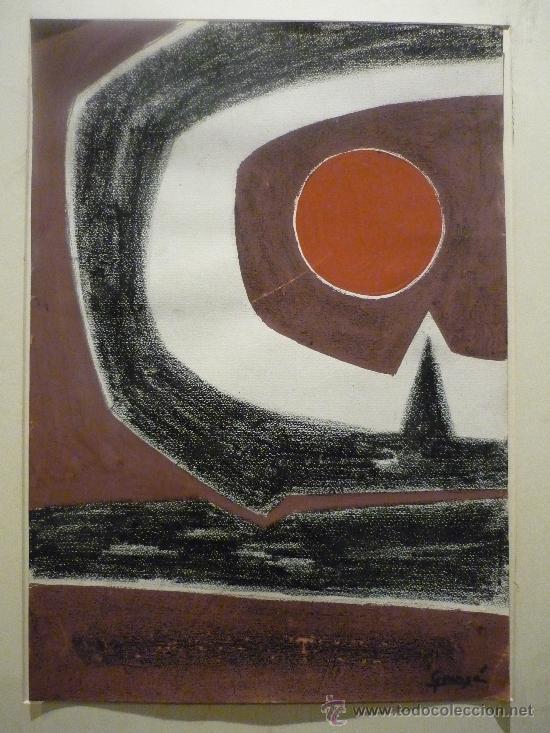 Arte: ANTONIO GUANSE BREA (1926-2008). TECNICA MIXTA. - Foto 2 - 37027559