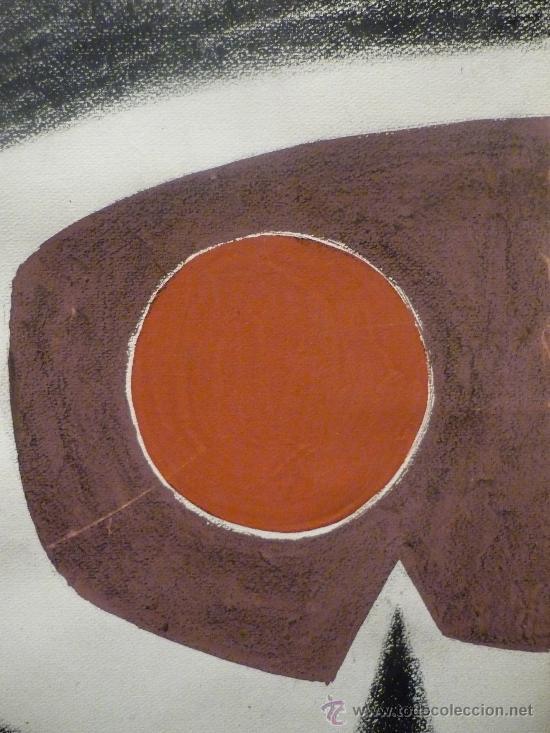 Arte: ANTONIO GUANSE BREA (1926-2008). TECNICA MIXTA. - Foto 3 - 37027559