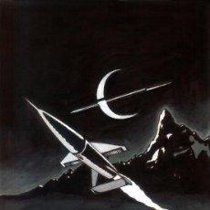 Arte: TRIBUTO A CHESLEY BONESTELL POR TONI CRISTIAN - TECNICA MIXTA SOBRE CARTON - 2013 SPACE ART. Lote 37248740