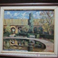 Arte: OLEO SOBRE TABLA FIRMADO DE PPS 1900. Lote 37486851