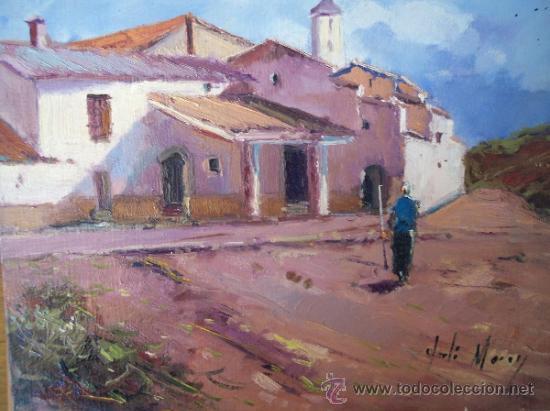 BONITO PAISAJE PINTADO AL OLEO, AUTOR JORDI MOREY (Arte - Pintura - Pintura al Óleo Contemporánea )
