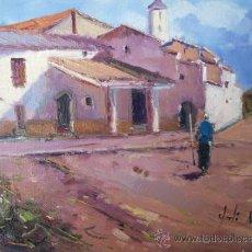 Arte: BONITO PAISAJE PINTADO AL OLEO, AUTOR JORDI MOREY. Lote 37393811