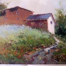 Arte: BONITO PAISAJE PINTADO AL OLEO, AUTOR JORDI MOREY. Lote 37393889
