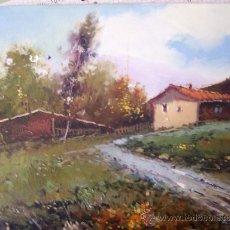 Arte: BONITO PAISAJE PINTADO AL OLEO, AUTOR JORDI MOREY. Lote 37393916