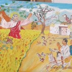 Kunst - Los siete varones apostólicos , San Tesifón ,Obispo de Berja , milagro de los gorriones de Crespo - 37449753