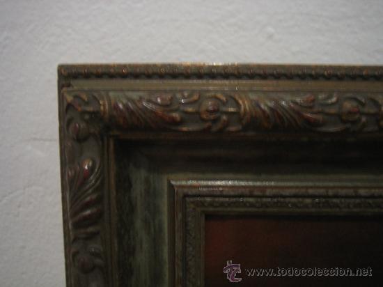 Arte: Bodegon pintado a oleo sobre lienzo. Medidas marco 68x70 y lienzo 50x61 cm - Foto 4 - 54311470