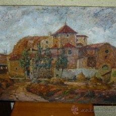 Arte: OLEO / TABLEX - FIRMADO BOSCH - PAISAJE. Lote 37569209
