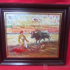 Arte: DESPLANTE. PINTURA AL OLEO ENMARCADA Y FIRMADA.. Lote 37653830