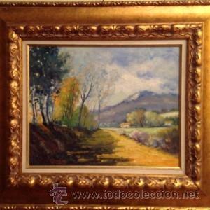 CUADRO DEL PINTOR ESPAÑOL JOSEP CALOMÉR COMAS / SIGLO XX 1935- 2002 (Arte - Pintura - Pintura al Óleo Contemporánea )