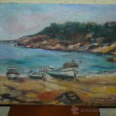 Arte: OLEO / TABLEX - FDO F SIRÉS - MARINA. Lote 37715376