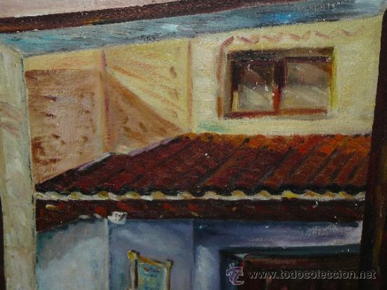 Arte: OLEO / TABLILLA ENTELADA - AMALIA - FACHADA - Foto 3 - 37716708