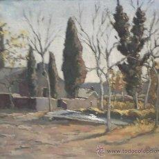 Arte: ÓLEO FIRMADO ABELLA, (SANTIGA 1958). Lote 37763458