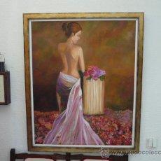 Kunst - DAMA CON FLORES - 37990146