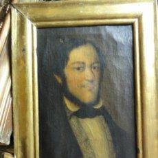 Arte: RETRATO HOMBRE 1830. Lote 38034590