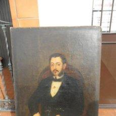 Arte: RETRATO POR AUGUSTO MANUEL DE QUESADA AÑO 1860. Lote 38061697