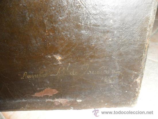 Arte: retrato por Augusto Manuel de Quesada año 1860 - Foto 8 - 38061697