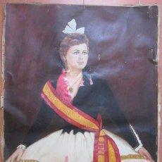 Arte: OLEO EPOCA ISABEL II. - REINA DEL CONGRESO - ENVIO CERTIFICADO GRATIS¡¡¡. Lote 38122493
