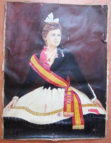 Arte: OLEO EPOCA ISABEL II. - REINA DEL CONGRESO - ENVIO CERTIFICADO GRATIS¡¡¡ - Foto 2 - 38122493