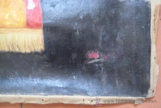 Arte: OLEO EPOCA ISABEL II. - REINA DEL CONGRESO - ENVIO CERTIFICADO GRATIS¡¡¡ - Foto 6 - 38122493