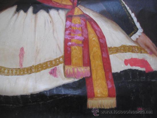 Arte: OLEO EPOCA ISABEL II. - REINA DEL CONGRESO - ENVIO CERTIFICADO GRATIS¡¡¡ - Foto 7 - 38122493