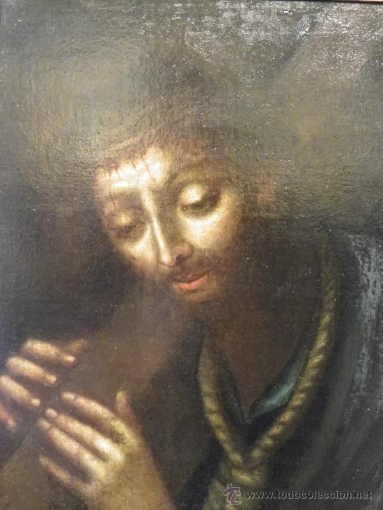 NAZARENO DE ESCUELA SEVILLANA DEL SIGLO XVII (Arte - Pintura - Pintura al Óleo Antigua siglo XVII)