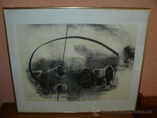 ?TECNICA MIXTA - FIRMA ILEGIBLE - ABSTRACCIÓN (Arte - Pintura - Pintura al Óleo Contemporánea )