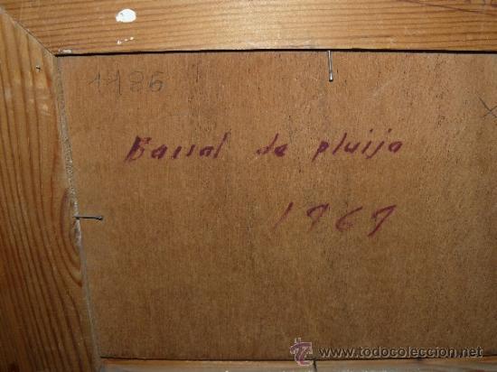 Arte: OLEO / TABLEX - GINER ELIAS - BARRAL DE PLUIJA - Foto 4 - 38173310