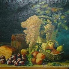Arte: OLEO / TELA FDO. J GIL SEGARRA - BODEGÓN. Lote 38208635