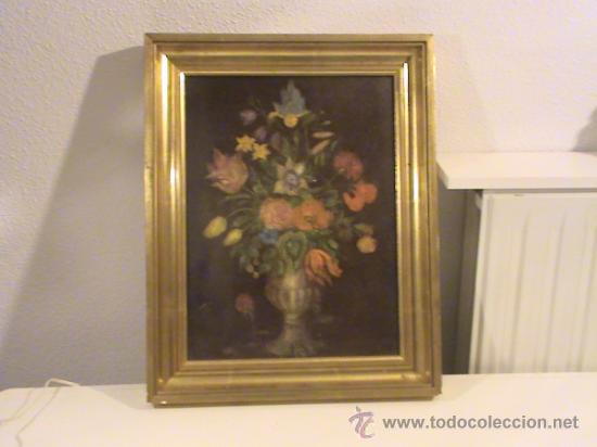 Arte: Bodegón de Flores sin firma. - Foto 3 - 38424975