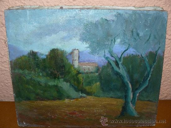 OLEO / TELA - FDO LLONCHSOLÁ - PAISAJE (Arte - Pintura - Pintura al Óleo Contemporánea )