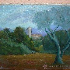 Arte: OLEO / TELA - FDO LLONCHSOLÁ - PAISAJE. Lote 38419113