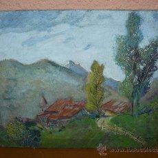 Arte: OLEO / TELA - FDO. A BASTARDAS - PAISAJE. Lote 38499804