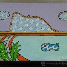 Arte: NEW AGE COLLECTION 2013 - PEÑÓN SURREALISTA - PIEZA ORIGINAL Y UNICA. Lote 38661430